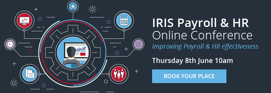 IRIS Payroll HR Online Conference Web Banner