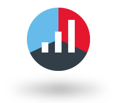 fy19 03 managed payroll pie chart icon