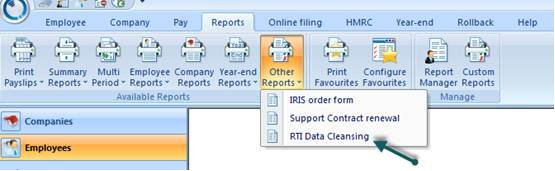 In Select Report Type select to expand Other Reports  QuickBooks