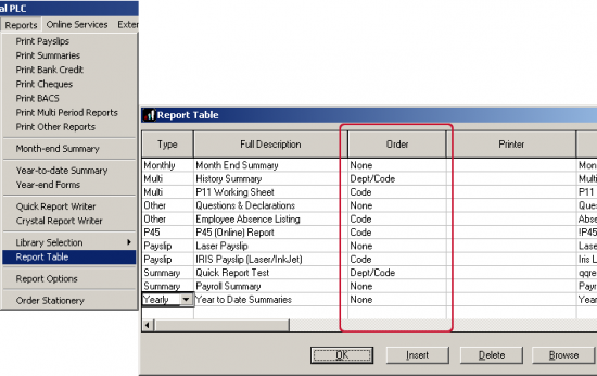 how to change the sort order in sybase