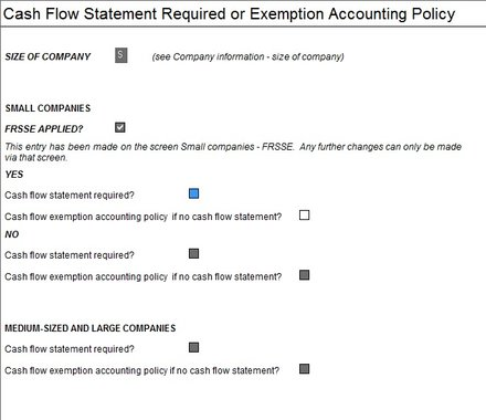 Ias How Do I Take Exemption Form The Cash Flow Statement