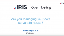 Are you managing your own servers in house