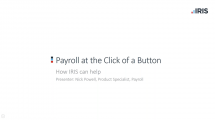 client Payroll at a click of a button