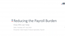reducing payroll burden