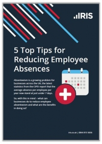 5 top tips for reducing employee absences