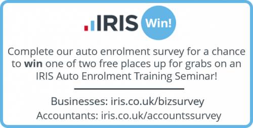 fc39e5795aed9d Competition Time  Take part in the quick survey for your chance to win free  IRIS Training