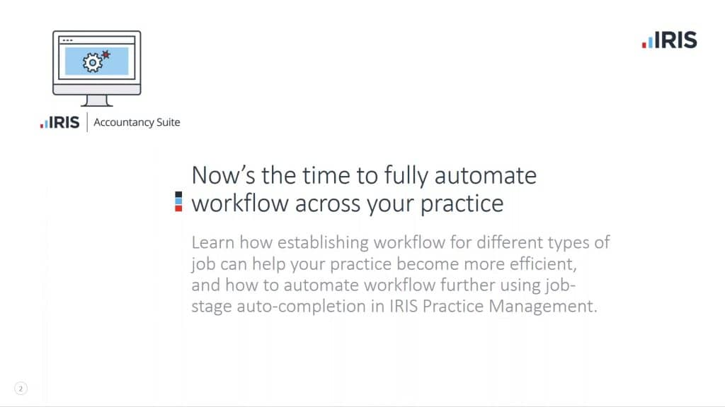 Now's the time to fully automate workflow across your practice