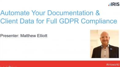 Automate your documentation and client data for full GDPR compliance 2018