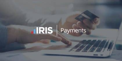 Get paid on time with IRIS Payments