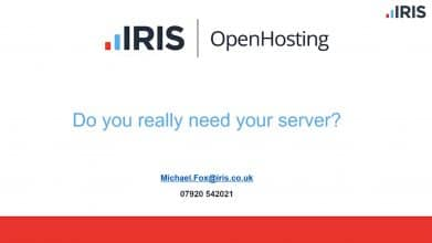 Are you managing your own servers in-house