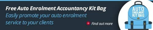 Accountants auto enrolment kit bag