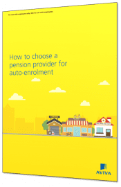 Aviva auto enrolment guide