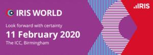 3 Reasons to attend IRIS World 2020